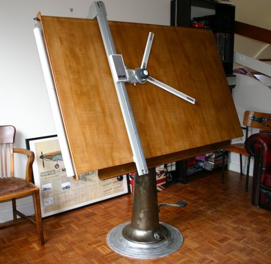 Industrial Drafting Table Nike La Boutique Vintage