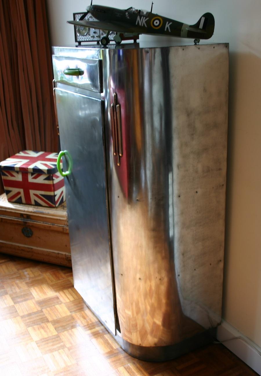 Industrial vintage aeronautics cabinet a10 la boutique vintage - Boutique deco vintage ...