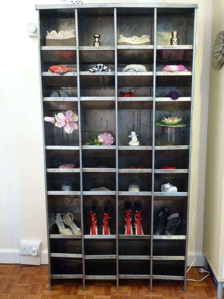 ... 900 × 1200 In Vintage Industrial Tallboy Pigeon Hole Cabinet