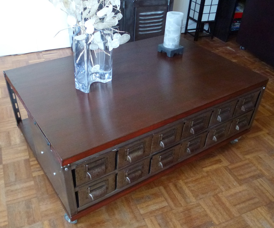 Industrial Vintage Coffee Table B1 La Boutique Vintage