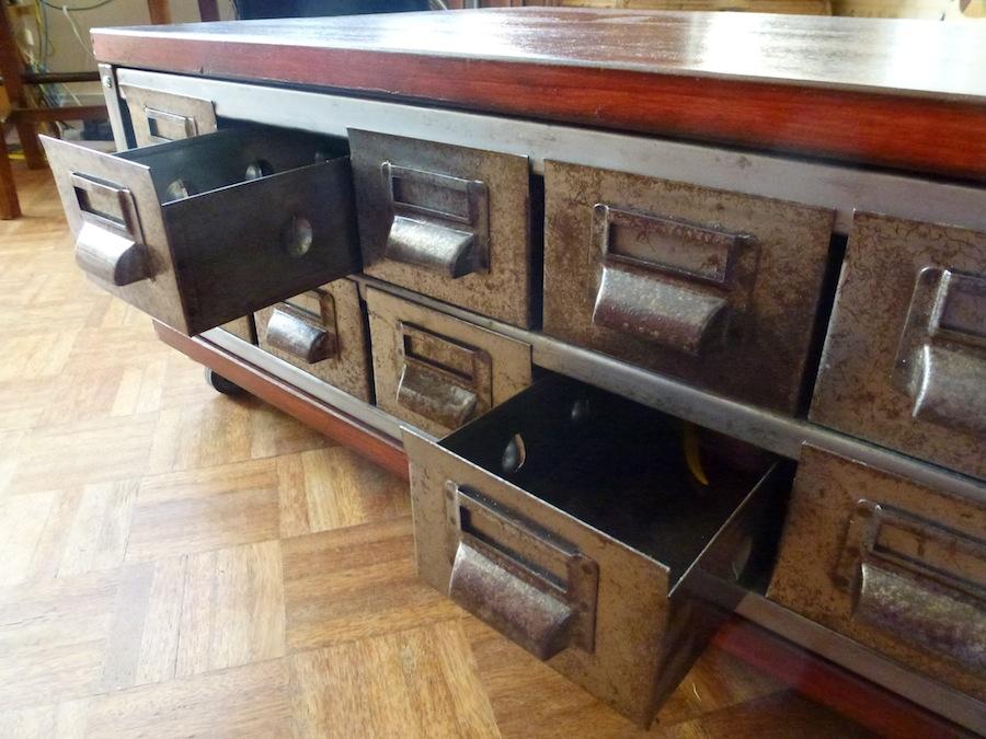 Industrial Vintage Coffee Table B3 La Boutique Vintage