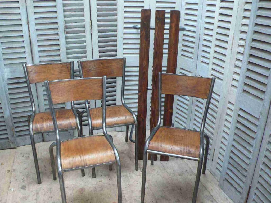 Vintage furniture mullca 510 la boutique vintage la for Chaise mullca 510