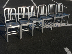 Vintage Industrial Navy Chair 1006 Emeco