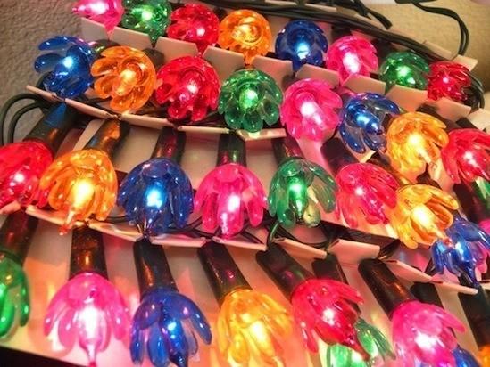 vintage christmas lights la boutique vintage