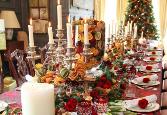 best christmas table decorations 3