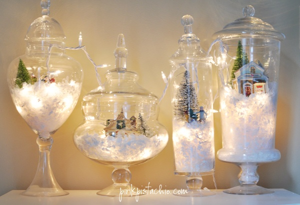 Vintage christmas table decorations la boutique