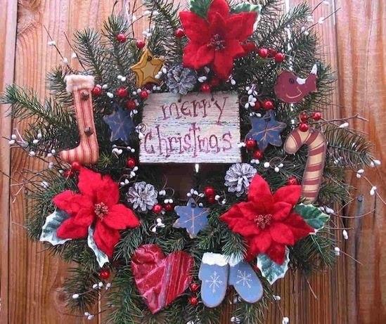 vintage christmas decorations wreaths la boutique vintage. Black Bedroom Furniture Sets. Home Design Ideas