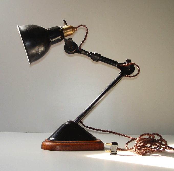 gras lamp | La Boutique Vintage