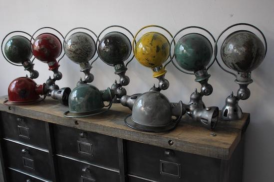 Vintage industrial lighting la boutique vintage - Lampe jielde applique ...